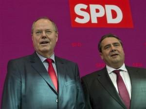 Peer Steinbrueck, Sigmar Gabriel